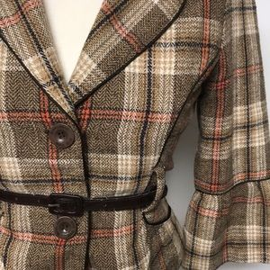 Authentic Original Vintage Style Jackets & Coats - Victorian Inspired Tweed Blazer